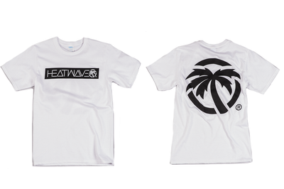 Heat Wave Icon T-Shirt White