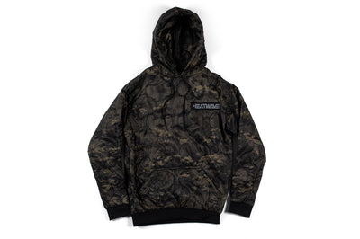 Heat Wave Woobie Hoody Midnight Camo (SIZE S ONLY)
