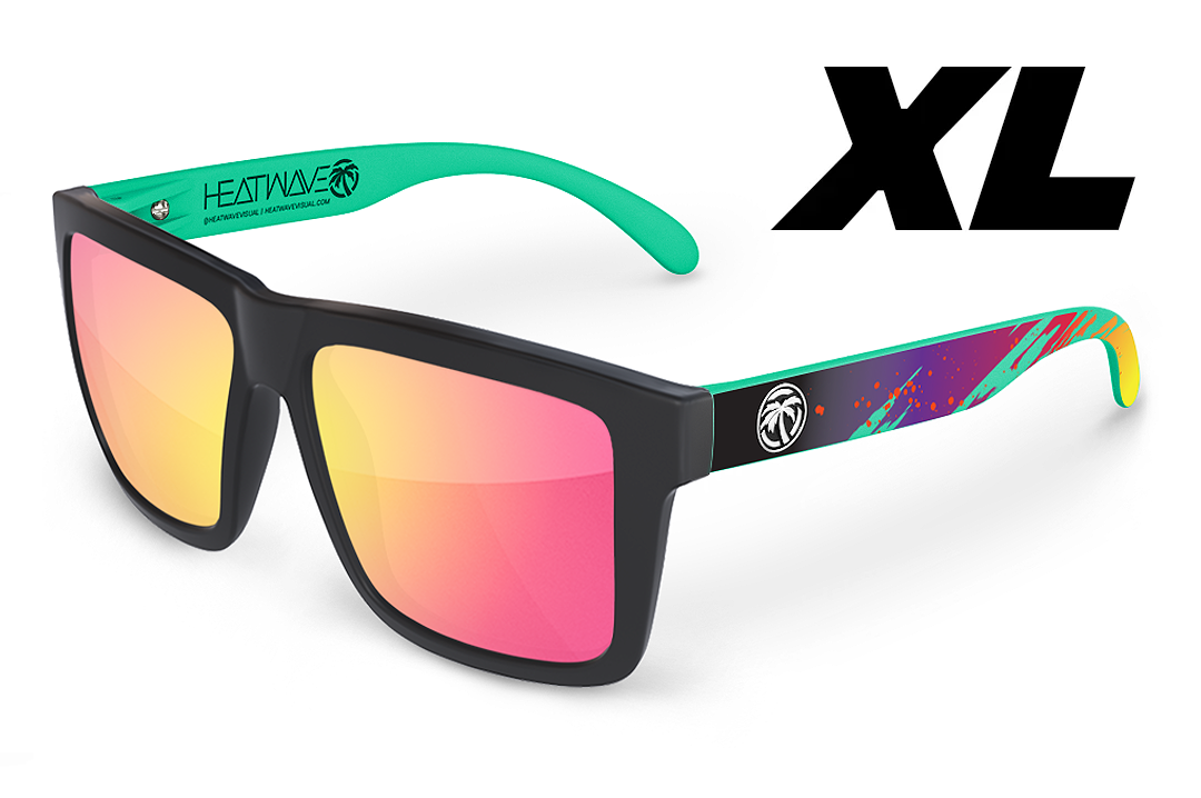 XL VISE Sunglasses: Aqua Splash Customs