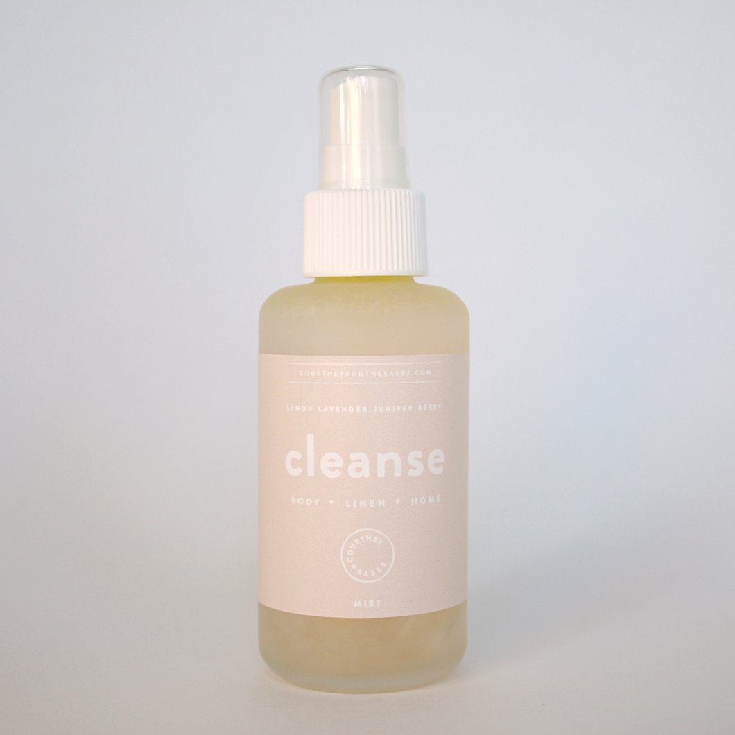 Courtney + Babes Body Linen Home spray 'Cleanse'