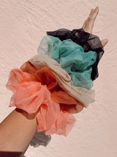Load image into Gallery viewer, Hair X Play Tulle Hair Scrunchie