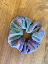 Load image into Gallery viewer, Hair X Play Tie dye velvet scrunchie
