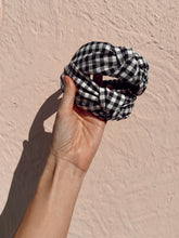 Load image into Gallery viewer, Hair x Play by Allure Gingham headband