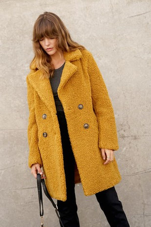 Honey Graham | Teddy Coat