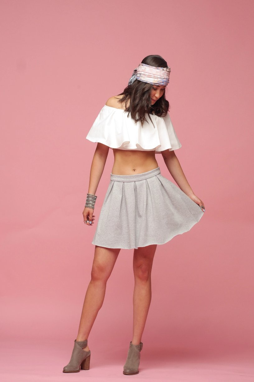 'Let's Lounge Around' | Play Skirt - PepperLilly