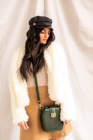 Penelope Plush | Faux Fur Jacket - PepperLilly