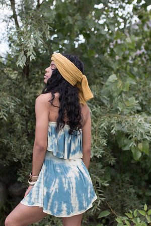 Blue Lagoon | Romper - PepperLilly