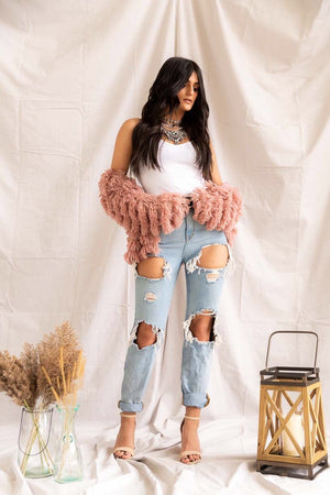 Lola Bear | Fringe Jacket - PepperLilly