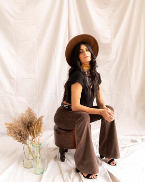 Southern Belle | Bell Bottoms (Chocolate) - PepperLilly