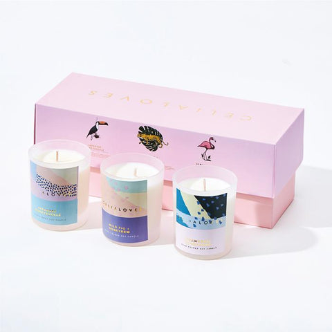 Tropicana Candle Gift Set