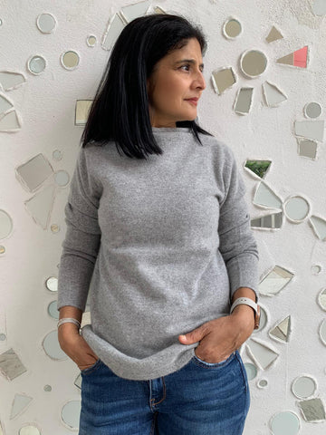 Pure Cashmere Isabelle Jumper - Grey
