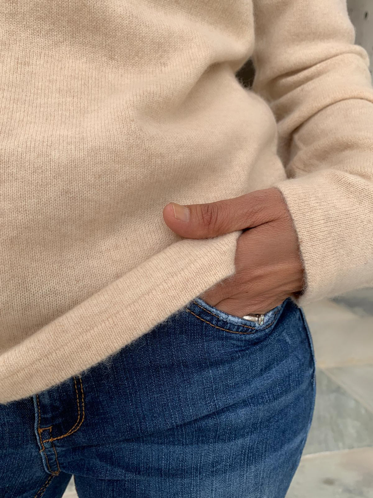 Pure Cashmere Isabelle Jumper - Oatmeal