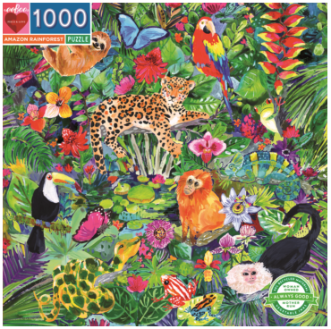 Puzzle - Amazon Rainforest
