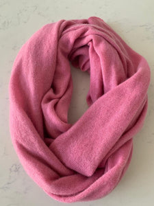 Pure Cashmere Scarf - Rose