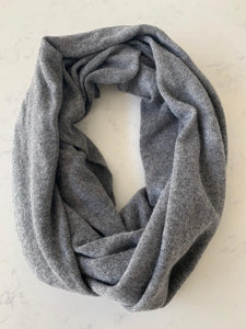 Pure Cashmere Scarf - Marle Grey