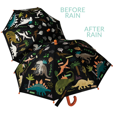 Colour Changing Umbrella - Dino