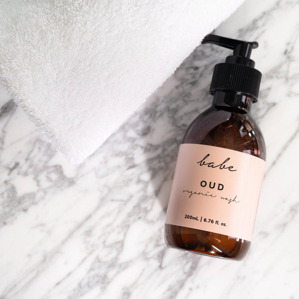 Organic Hand & Body Wash - Oud
