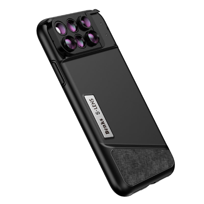 BENKS S-LENS 6-in-1 Phone Cover for iPhone X
