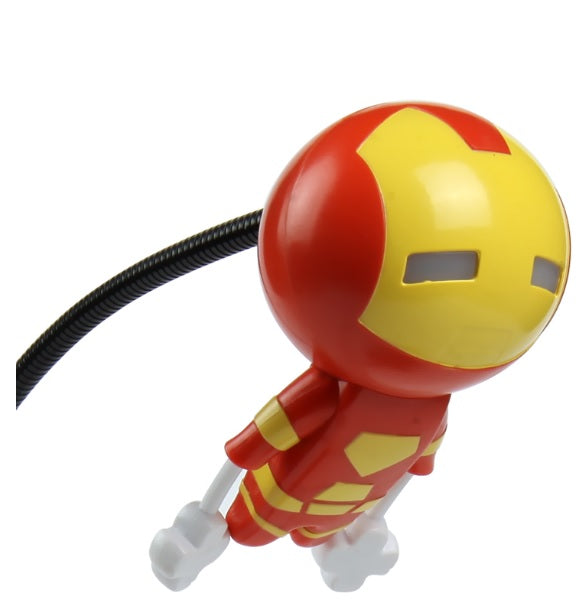 Iron Man Design Dolls Desktop LED Lights