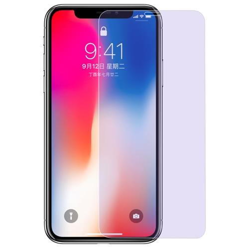 BENKS KR 0.15 Anti Blue Tempered Glass For iPhone X