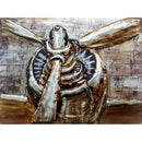 3D Wall Art Decoration Hand Painted - Plane Engine
