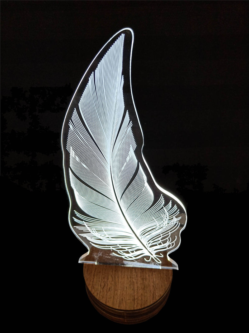 3D Lamp For Feather Design