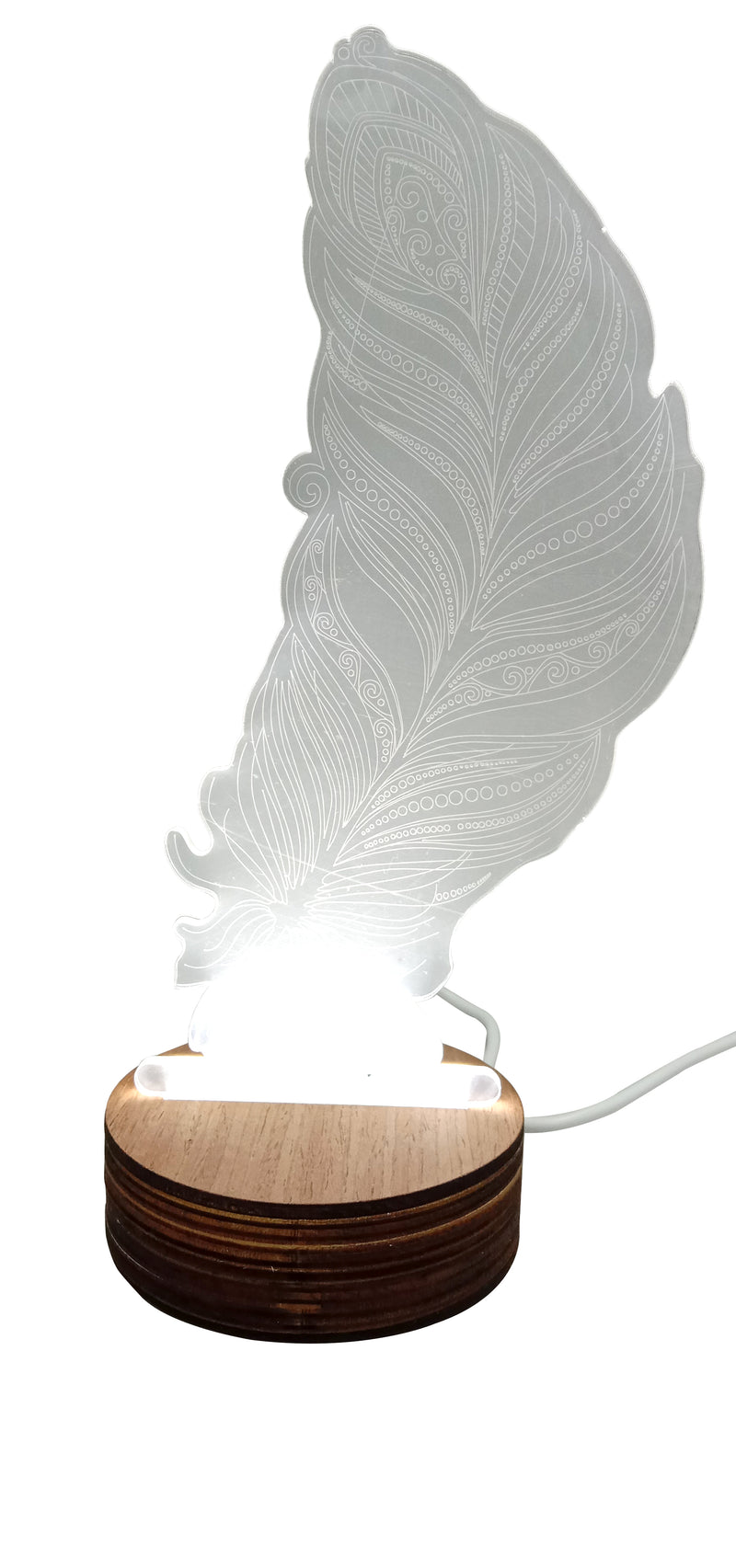 3D Lamp For Leaf Design