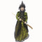 Halloween darkness standing witch 60cm Spider Net With Leaf-Flower