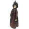 Halloween Darkness Standing Witches 60cm Without Broom Stick