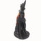 Halloween Darkness Standing Witches 60cm With Umbrella Cut