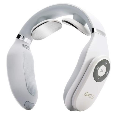SKG 4098 White With  Smart Telecontroller Neck Massager
