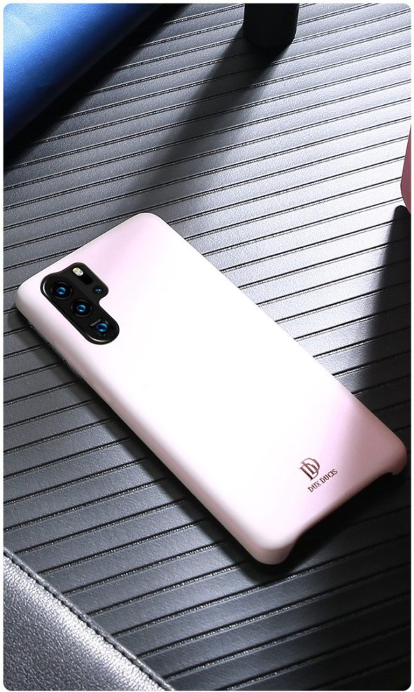 DUX DUCIS Soft PU Leather Back Phone Cover For HUAWEI P30