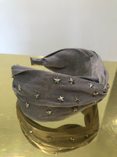 Load image into Gallery viewer, Silver Metal Star Embellished Headband