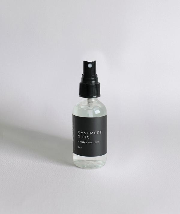 Lightwell Co. Cashmere & Fig Hand Sanitizer