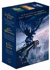 Percy Jackson: Lighting Thief / Sea of Monsters / Titan's Curse (Percy Jackson and the Olympians)