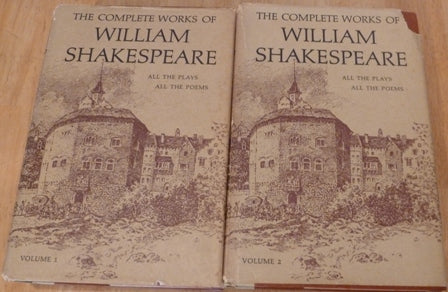 The Complete Works of William Shakespeare(Two Volumes) Arranged In Their Chronological Order (With An Introduction To Each Play, Adapted From The Shakespearean Primer of Professor Dowden)