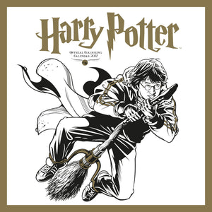 Harry Potter Official 2017 Colouring Calendar