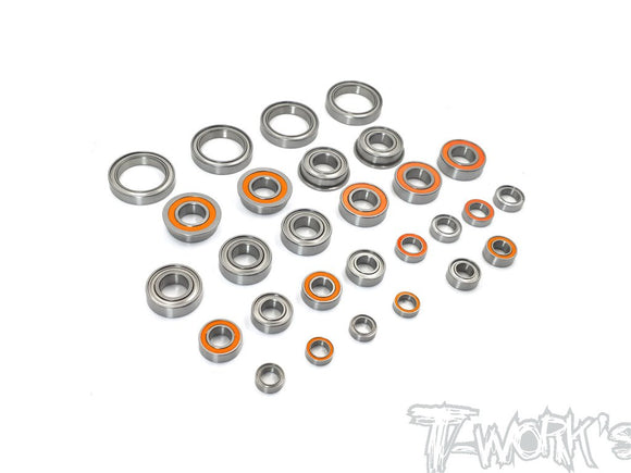 T-WORKS Precision Bearing kit For Team Associated RC8 B3.1 (28pcs) #BBS-RC8B3.1