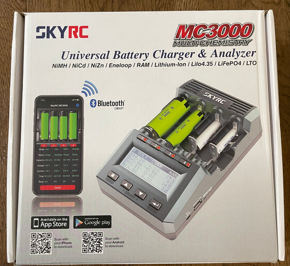 SKYRC MC3000 Universal battery charger/Analyzer