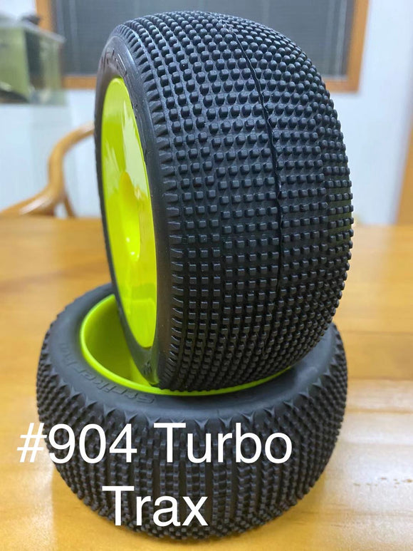 VP PRO #904 TURBO TRAX EVO TRUGGY TIRES (UNGLUED)