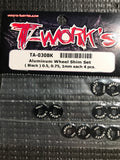 T-WORKS Aluminum Shim Set (0.5 /0.75 /1.0mm each 4 pcs.) #TA-030