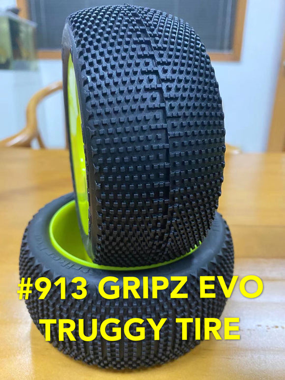 VP PRO #913 GRIPZ EVO TRUGGY TIRES COMBO (UNGLUED)