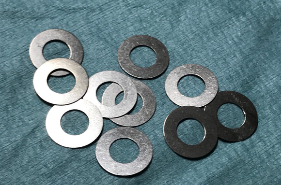 RTW RACING STAINLESS STEEL ULTRA THIN DIFF SHIMS(10 PCS)