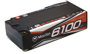 (BACKORDER) MACLAN RACING GRAPHENE V3 HV 2S SHORTY 6100 MAH #MCL6017