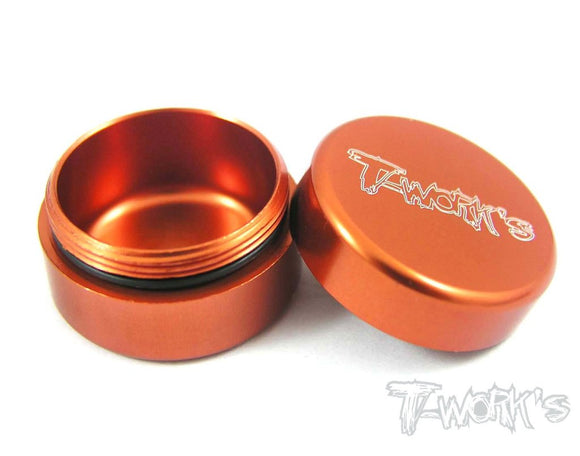 T-WORKS Aluminum Grease container (Small) 1pc #TA-034-O