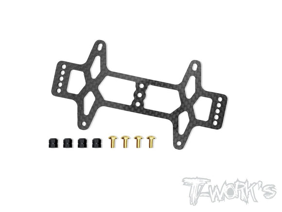 T-WORKS Graphite Battery Strap For Team Associated RC10 B6/ B6D/B6.1/T6.1  #TE-168