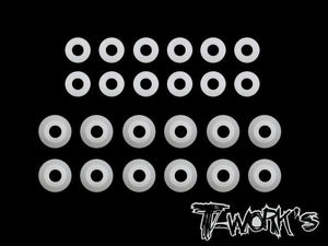 T-WORKS POM Shock Shaft guides For Xray XB2/XB4 2015~2019 (24pcs) #TO-167