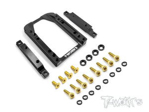 T-WORKS 7075-T6 Alum. Quick Change Engine Mount ( For Mugen MBX8/MBX7R/MBX7 ) #TO-179-MBX8