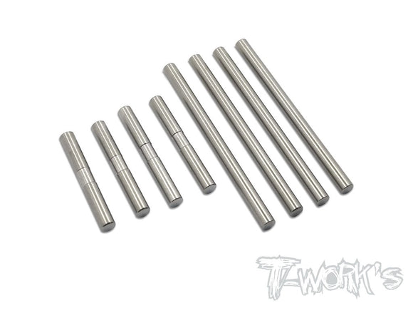 T-WORKS 64 Titanium Suspension Pin Set ( For Xray T4'16/'17/'18/'19/'20/T4F)#TP-051
