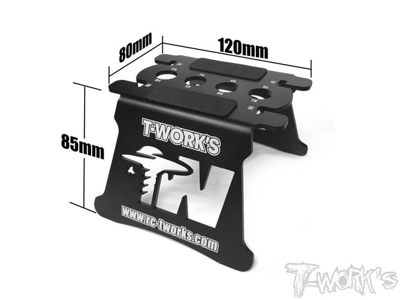 T-WORKS Car Stand ( For 1/10 Buggy & 1/8 Buggy ) #TT-017
